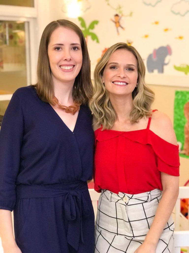 """Participação especial no curso """"Oi, Cheguei ao Mundo - os primeiros cuidados com o bebê"""", com a atriz e apresentadora Fernanda Rodrigues"""
