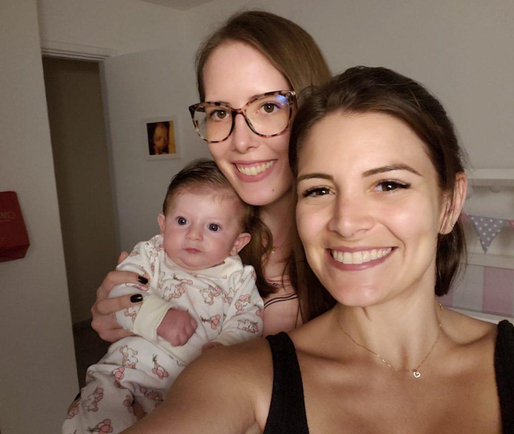 Acompanhando a Aurora, filha da Renata Del Bianco, a eterna Vivi, das Chiquititas